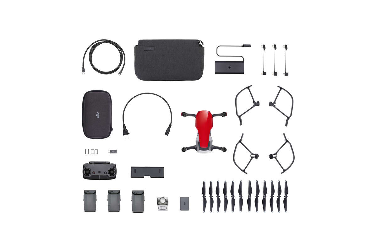 Flycam DJI Mavic Air - Combo Red