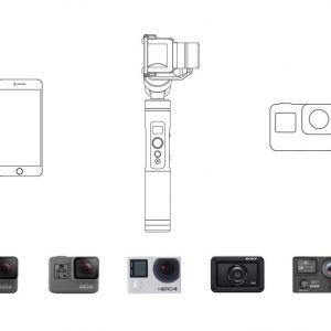 Gimbal Feiyu Tech G6 for Gopro Hero 5,6 / RX0