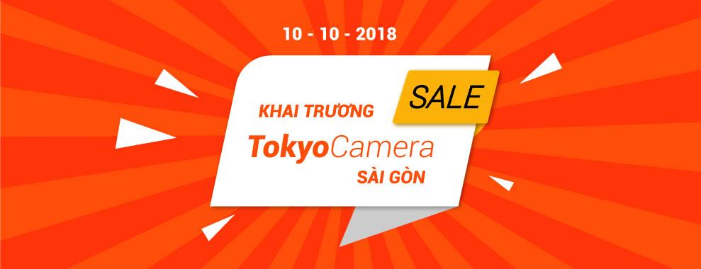 Khuyến mãi Khai trương TokyoCamera Sài Gòn