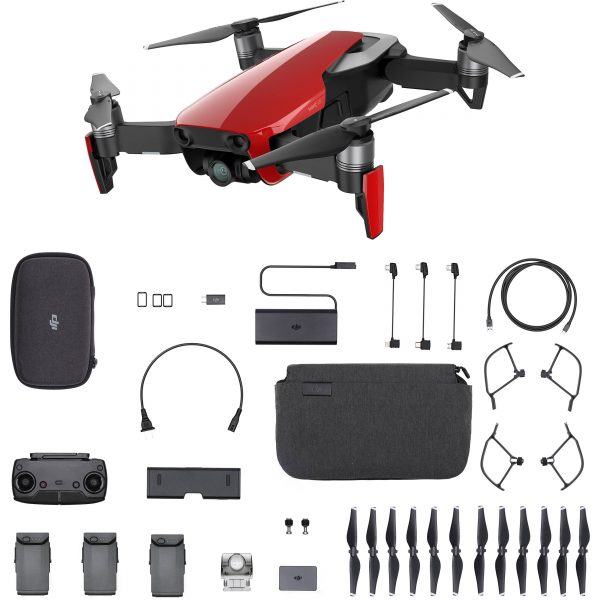 Flycam DJI Mavic Air Fly More Combo (Flame Red)