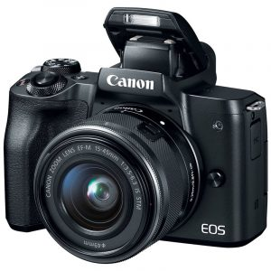 CANON EOS M50 KIT 15-45MM (ĐEN)