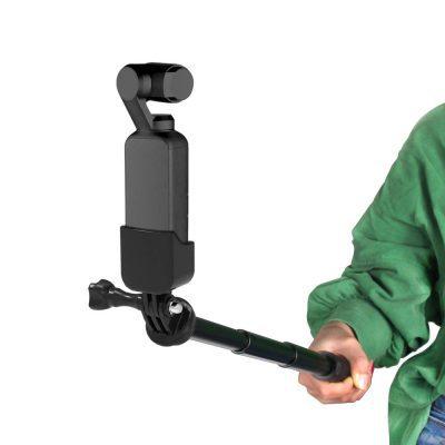 Adapter 1/4 + Gậy kéo dài đa năng cho Osmo Pocket (14.8cm-66cm)
