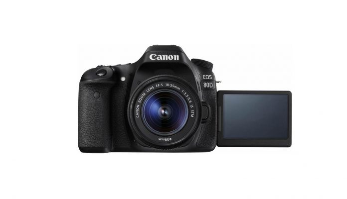 CANON EOS 80D KIT EF S18-55 IS STM