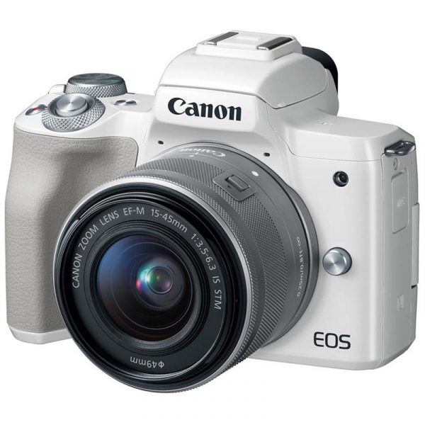 CANON EOS M50 + KIT 15-45MM (TRẮNG)