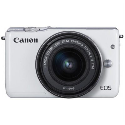 CANON EOS M10 KIT EF-M15-45 (TRẮNG)