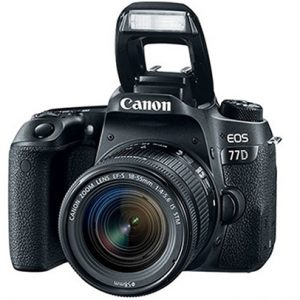 CANON EOS 77D KIT 18-55 F/3.5-5.6 IS STM
