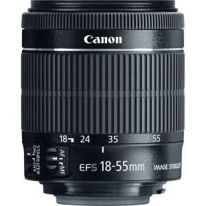 Canon EF-S 18-55mm f/3.5-5.6 IS STM (Hàng cũ)