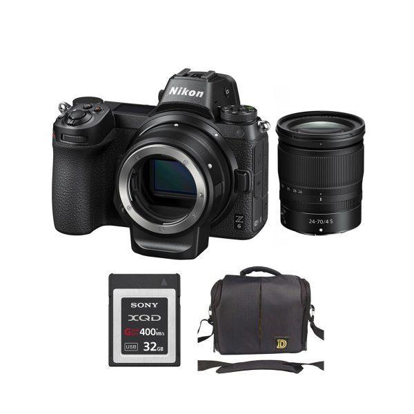 Nikon Z6 Kit Z 24-70mm f/4 S + Ngàm chuyển FTZ (Chính hãng VIC)