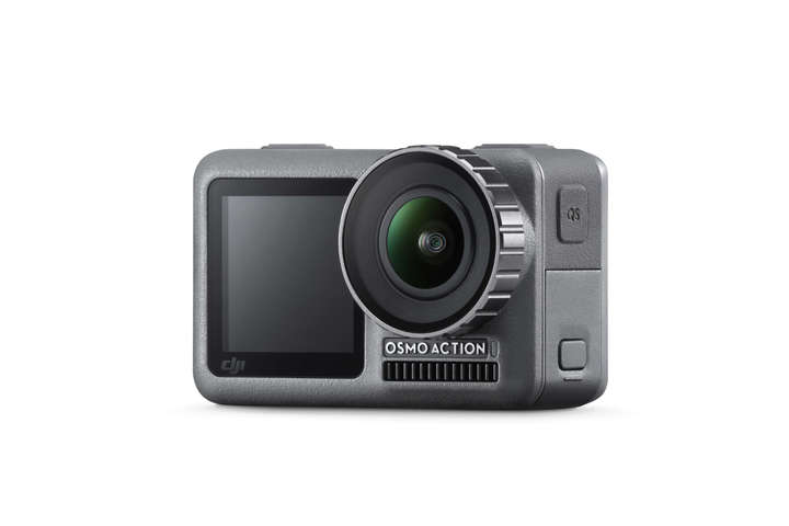 DJI Osmo Action - máy quay hành trình bỏ túi nhỏ nhất thế giới