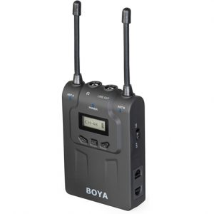 BOYA DUAL-CHANNEL WIRELESS BODYPACK RECEIVER BY-WM8R