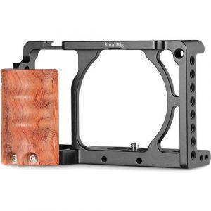 SmallRig Cage Tay cầm gỗ cho Sony A6000/A6300 – 2082