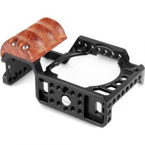 SmallRig Cage Tay cầm gỗ cho Sony A6500 – 2097
