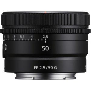 Sony FE 50mm F/2.5G- Tokyocamera